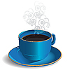 Vector clipart: Cup Coffee