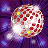 Векторный клипарт: дискотечный шар