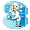Vector clipart: doctor