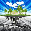 Ökologie | Stock Vektrografik