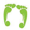 Vector clipart: foots