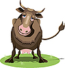 Vector clipart: Cow