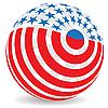 Векторный клипарт: миру флаг
