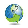 Векторный клипарт: Земной шар