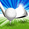 Vector clipart: Golf
