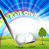 Vector clipart: Golf Club