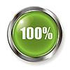 Vector clipart: green button