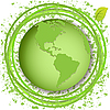 Green globe | Stock Vector Graphics