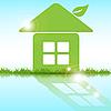 Vector clipart: green house
