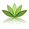 Vector clipart: green sheets