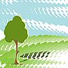 녹색 나무 | Stock Vector Graphics