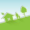 Vector clipart: green world