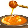 Vector clipart: honey