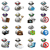Vector clipart: icons witm men