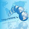 Vector clipart: internet texture