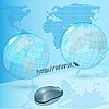 Vector clipart: internet