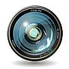 Vector clipart: lens