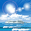 Cruise liner | Stock Vector Graphics