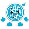 Vector clipart: merry globe