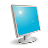 Vector clipart: monitor