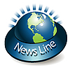 Vector clipart: News Line