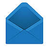 Open envelope | Stock Vector Graphics