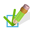 Vector clipart: pencil