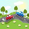 Vector clipart: road