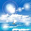 Vector clipart: sea