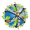 Vector clipart: speedway