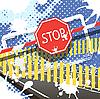 Vector clipart: stop