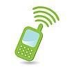 电话 | 向量插图