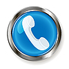 Vector clipart: telephone receiver icon