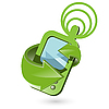 Векторный клипарт: Телефон