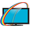 Vector clipart: television set