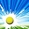 Векторный клипарт: теннис