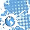 Векторный клипарт: Текстура Globe