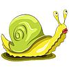 Vector clipart: snail