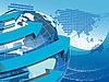 Vector clipart: Texture Globe