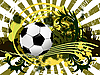 Vector clipart: soccer