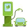 Vector clipart: auto bio