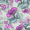Vector clipart: Seamless Texture Of Flowers