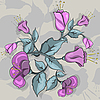 Vektor Cliparts: Blume