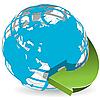 Vector clipart: globe