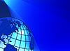Vector clipart: globe texture