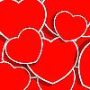 Векторный клипарт: красное сердце