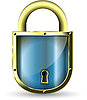 Vector clipart: padlock