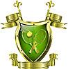 Vector clipart: tennis emblem