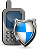 Vector clipart: phone and shield