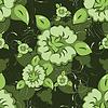 Vector clipart: flowers texture